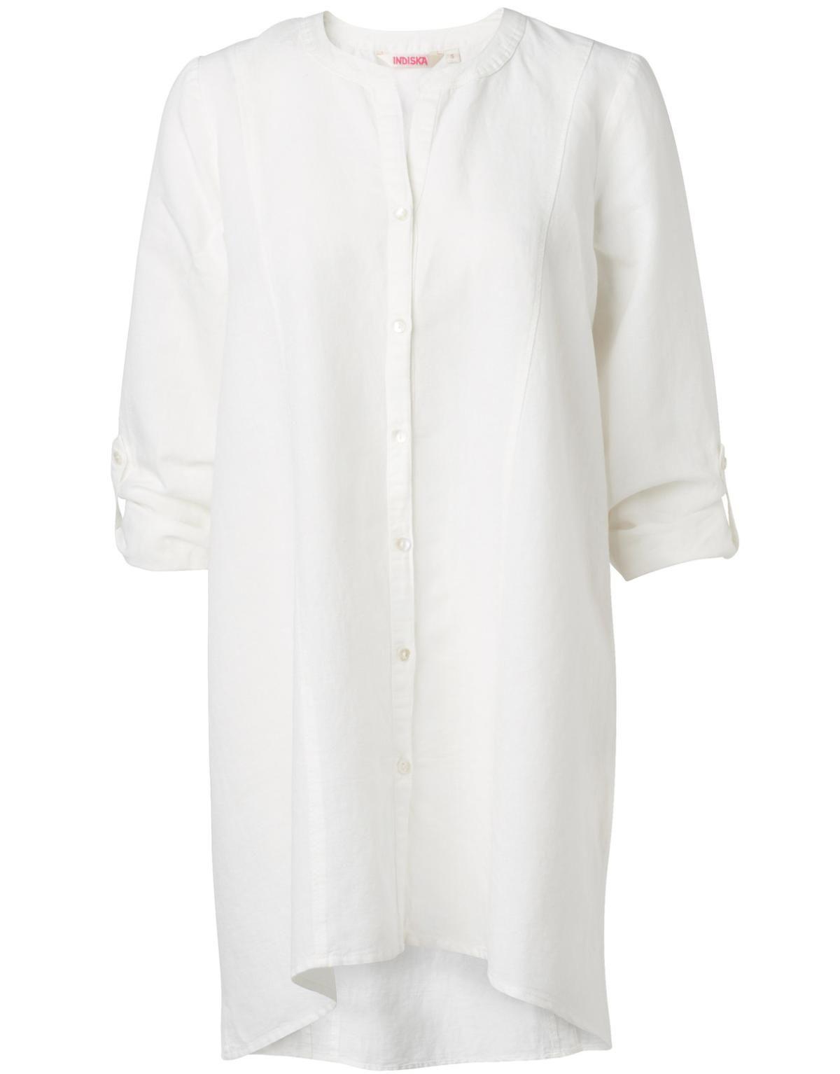 Una Tunika Offwhite Solid Tunic Tunikor Klader Indiska Shop Online Tunikor Klader Hostmode