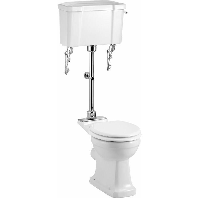 Burlington Medium Level Toilet P5 Traditional Toilets Victorian Toilet Toilet