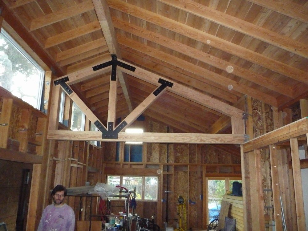 Exposed Structural Beams With