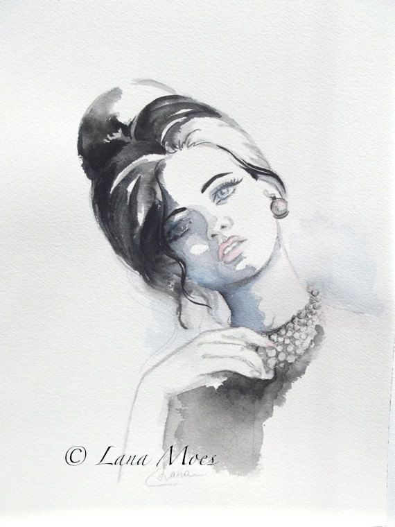 Fine Art Print Signed by Artist from Original by LanasArt on Etsy