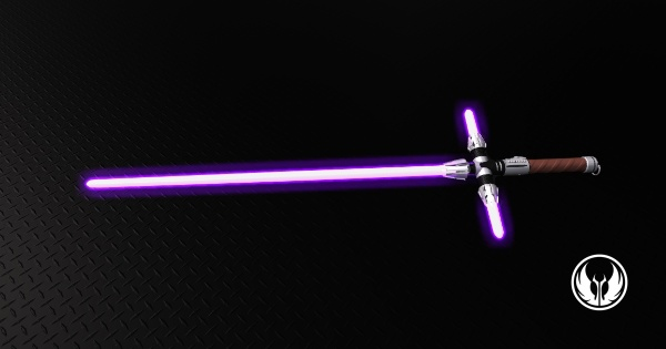 Adaptive Saber Parts Lightsaber I Have Constructed My Saber And The Crystals Are Red And Purple Star Wars Light Saber Star Wars Images Star Wars Art