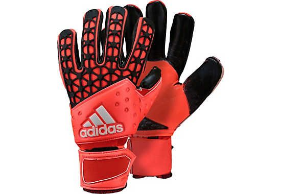 purchase cheap 90ff2 49ebe adidas ACE Zones Pro Goalkeeper Gloves - Solar Red and ...