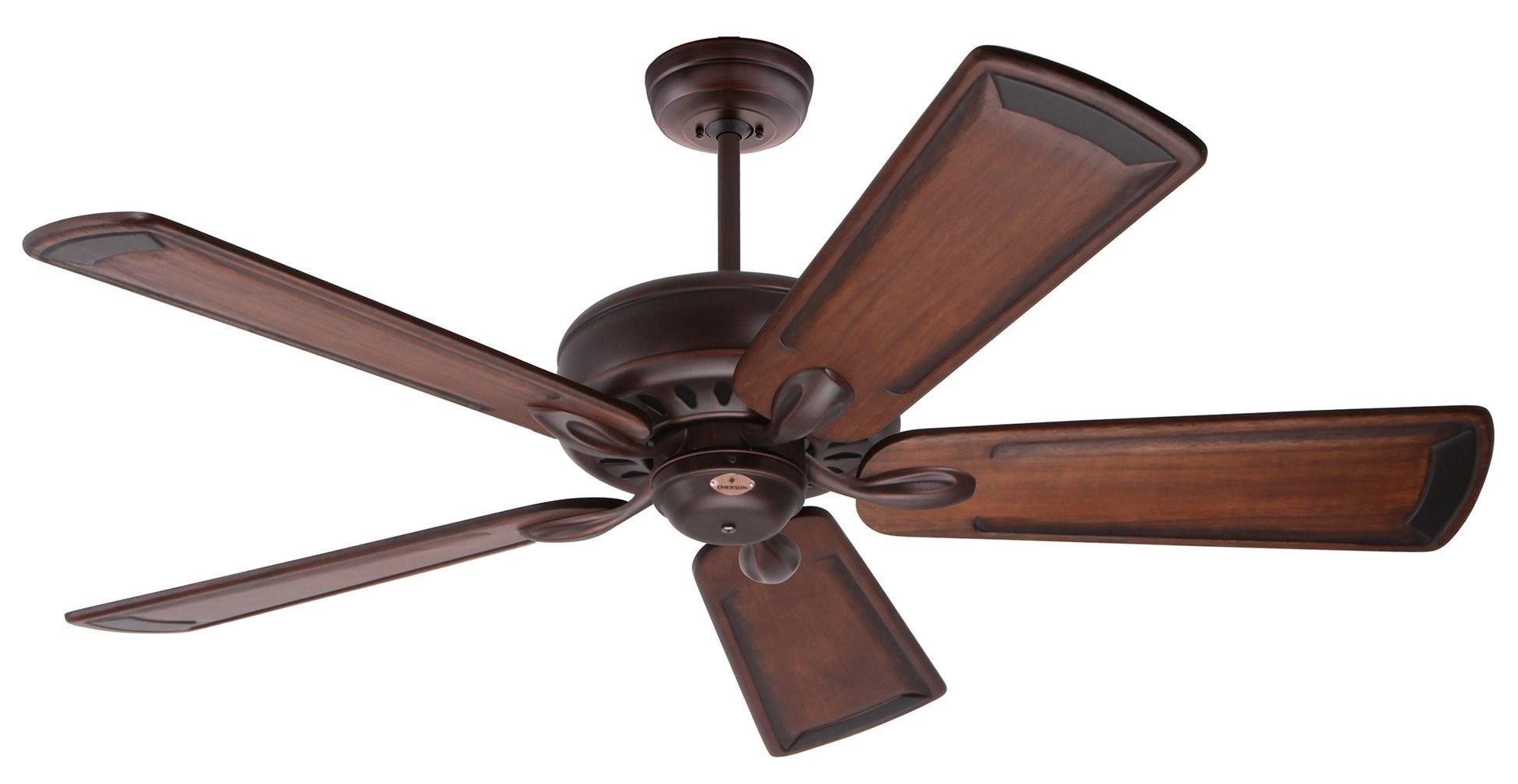 emerson avant eco 54 dc motor ceiling fan bronze craftmade warplane