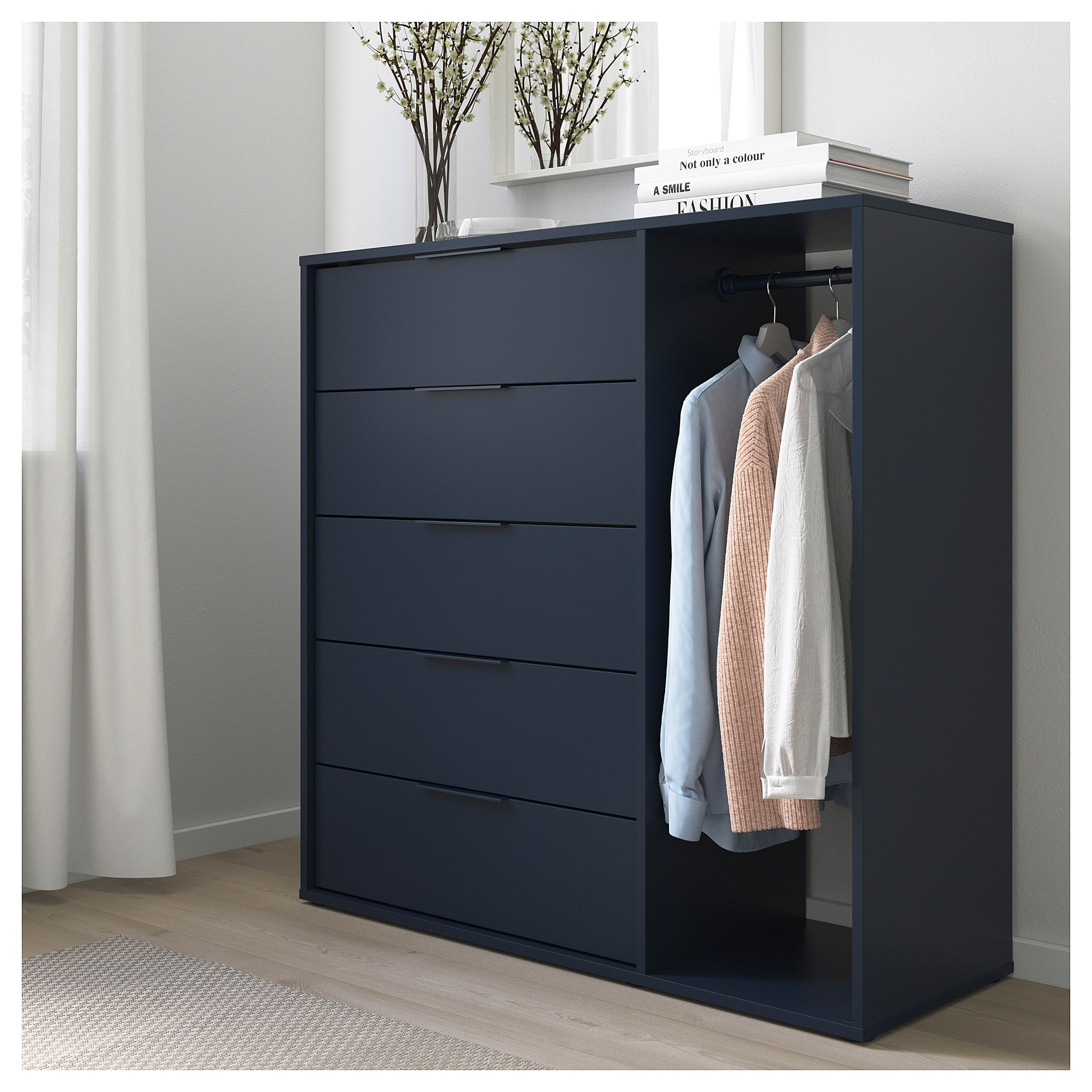 Nordmela Chest Of Drawers With Clothes