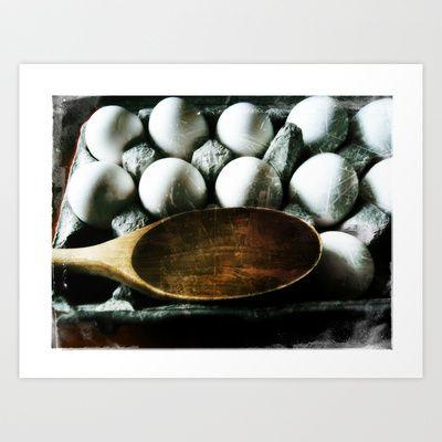 Eggs Art Print by Patti Friday - $17.68