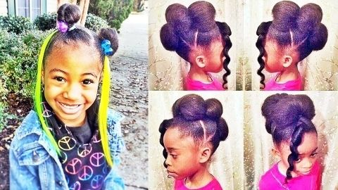Hairstyles For 12 Year Old Black Girls Online