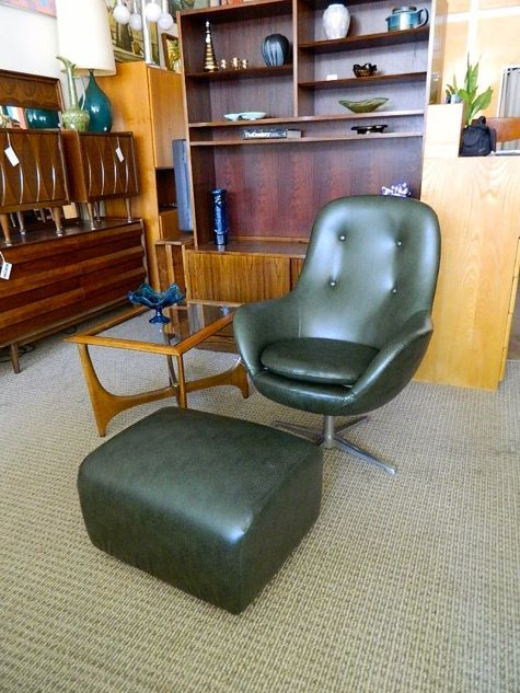 Modern Mobler - Overman chair and ottoman. Beautiful ...