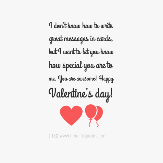 Valentines Day Quotes Messages In Cards – Quotes for Valentine Cards