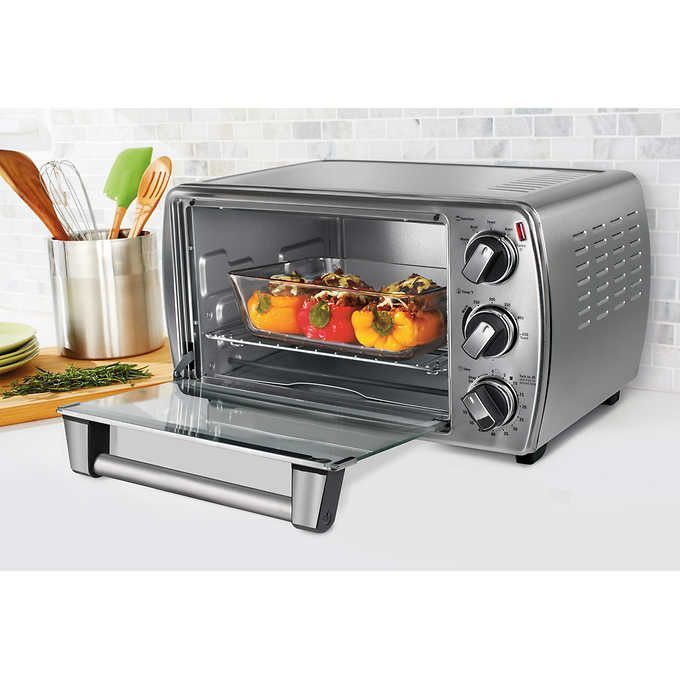 Oster 6 Slice Convection Countertop Oven Convection Toaster Oven