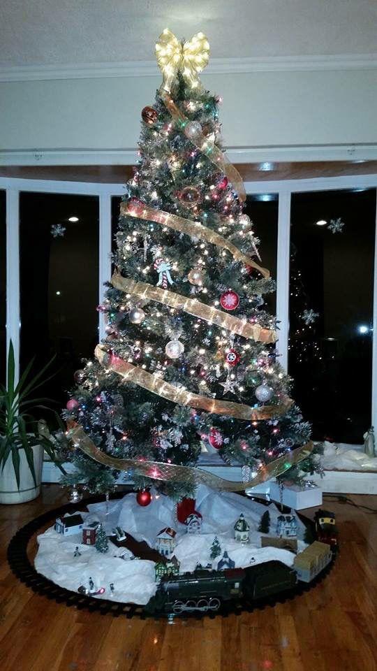 My friends Christmas tree