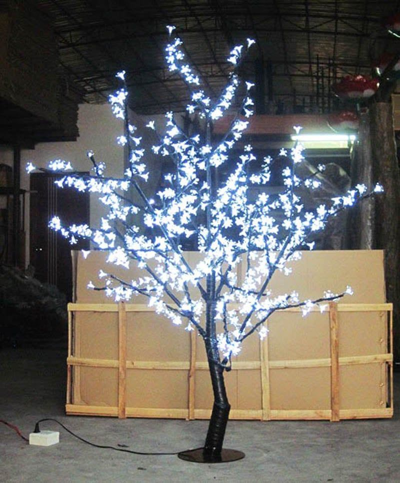 480pcs Leds Cherry Blossom Tree Light 5ft 1 5m Height Etsy Outdoor Lighting Design Modern Outdoor Lighting Outdoor Christmas Lights
