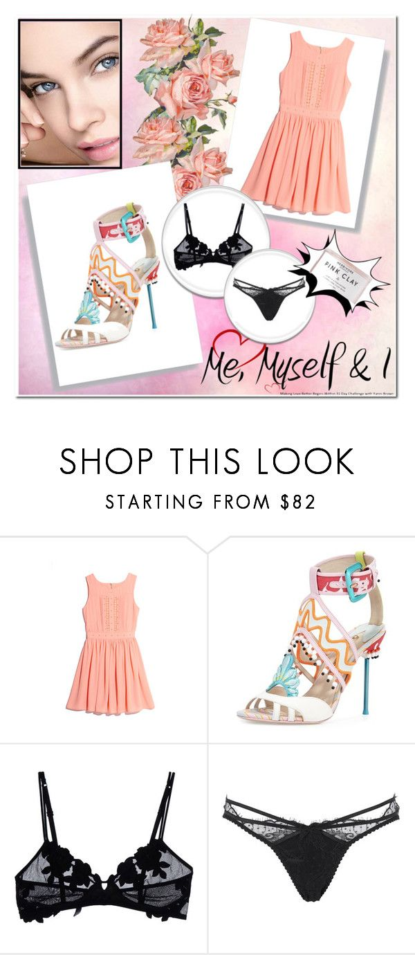 """""""Me,Myself, & I"""" by coolmommy44 ❤ liked on Polyvore featuring GUESS by Marciano, La Perla, Agent Provocateur and Herbivore Botanicals"""