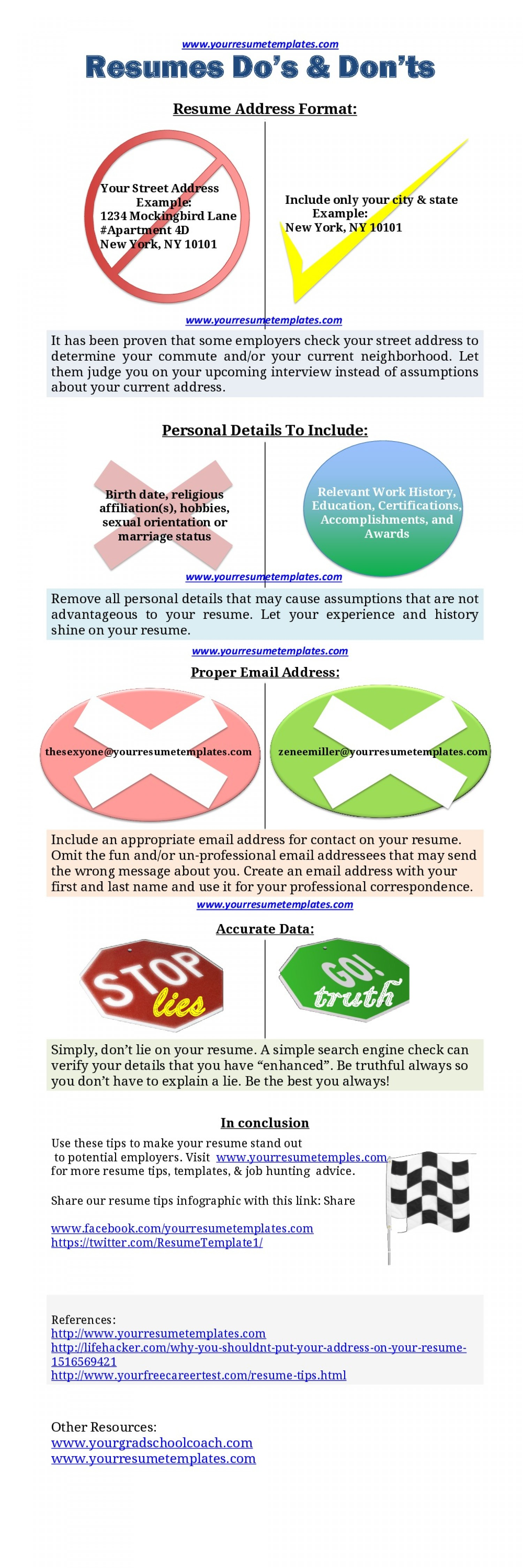 Read More Tips For Your Resume On Tipsographic Com Resume