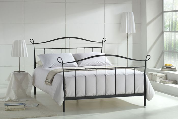 Metal Double Bed Black Bed Frame Bed Headboard Design Metal Double Bed