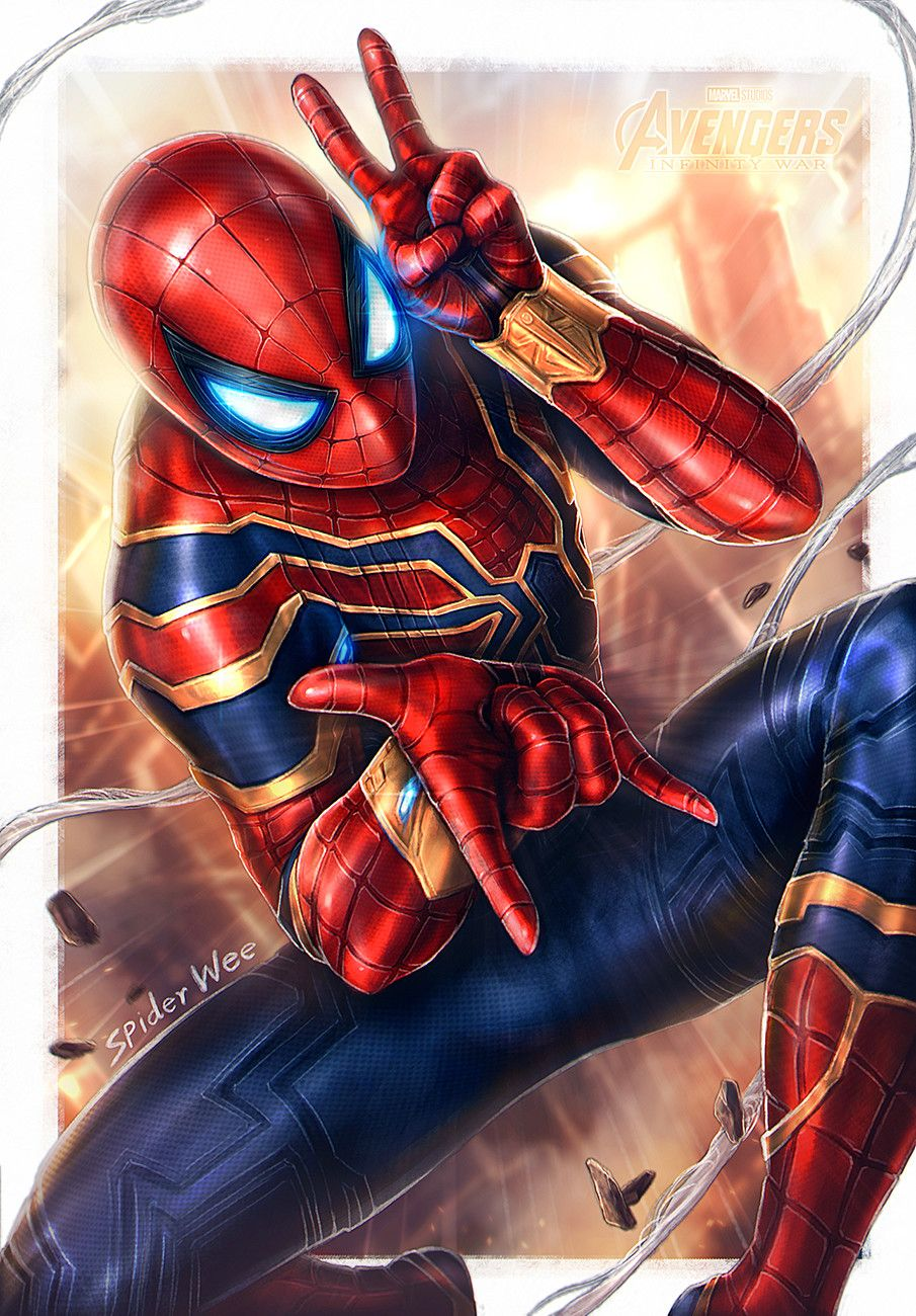 Iron Spider Avengers Infinity War By Spider Wee With Images