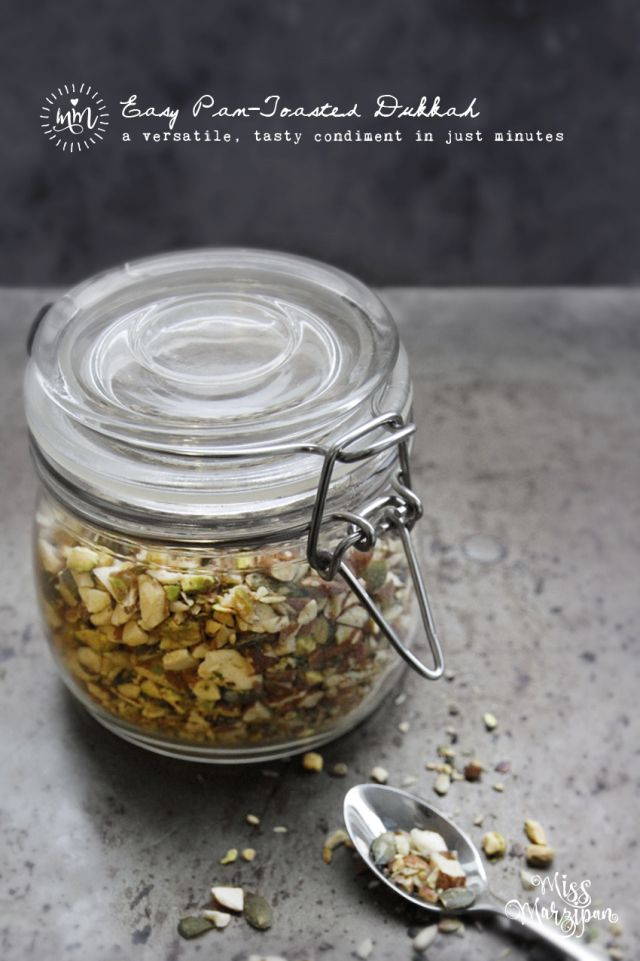 Easy Nut and Seed Pan Toasted Dukkah