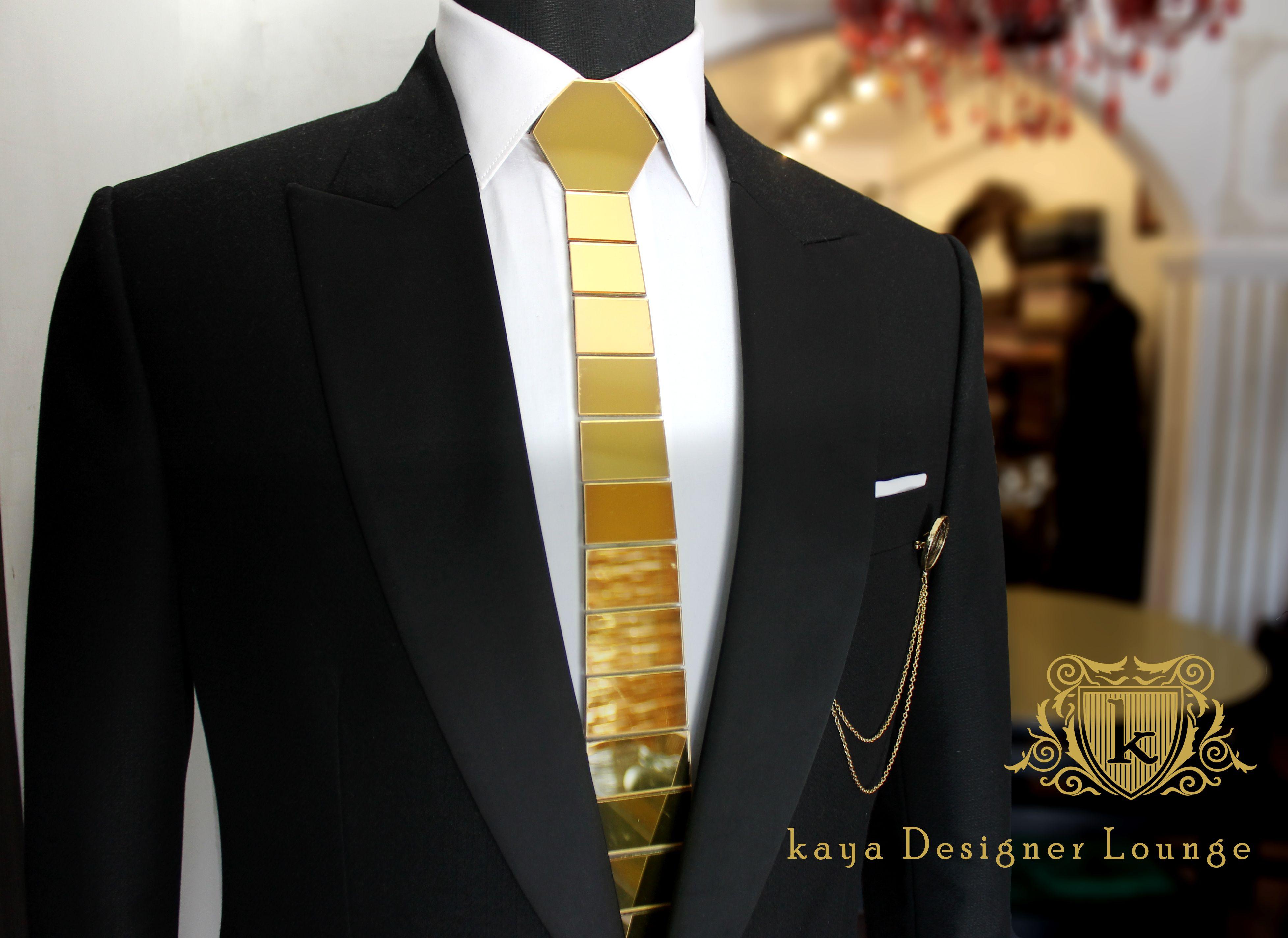 Gold And Navy Tie - Erieairfair