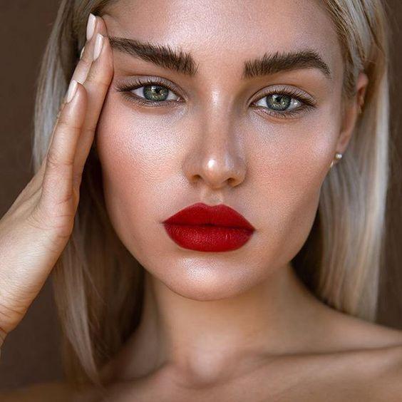 No Makeup Makeup Look Nomakeupmakeup In 2020 With Images Red