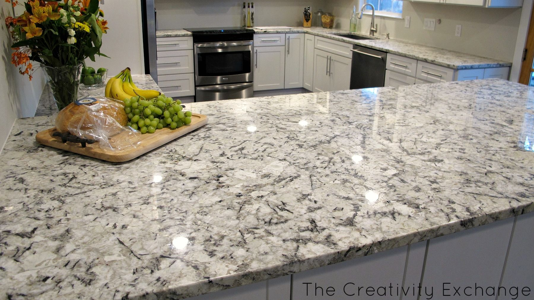 White Ice Granite 3 Kitchen Inspiration Pinterest