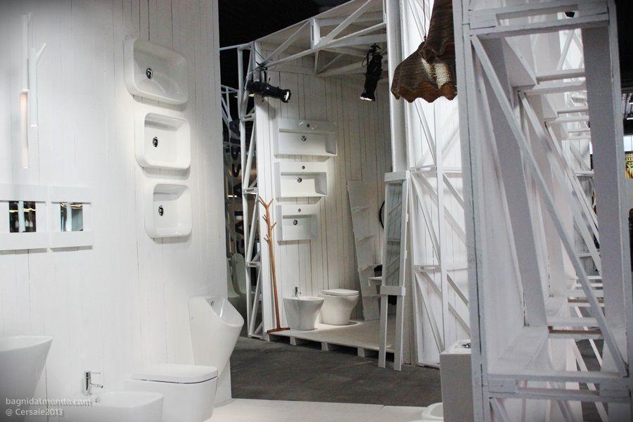 stand ceramica galassia #bathroom #design #cersaie 2013 - bologna ... - Galassia Arredo Bagno