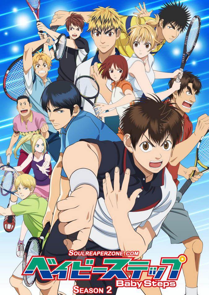 Baby Steps 2nd Season Anime episodes, Anime eng sub, Anime