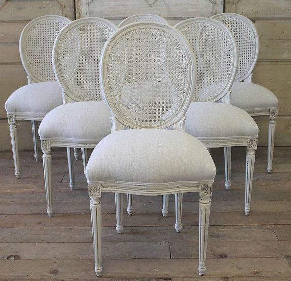 Antique French Cane Chairs In Linen Dining Chairs For Sale Cane Dining Chairs French Dining Chairs