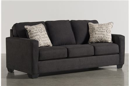 Cool Bonus Room Idea Alenya Charcoal Queen Sofa Sleeper Main Ncnpc Chair Design For Home Ncnpcorg