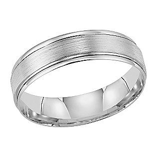 199 From Sears 5mm Wedding Band In 10k White Gold Mens Wedding Rings Wedding Rings Mens Wedding Bands