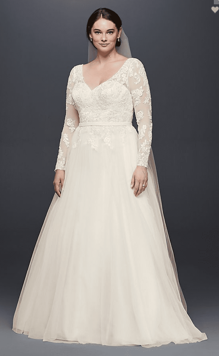 27 Plus Size Wedding Dresses To Flatter And Flaunt Your Curves In