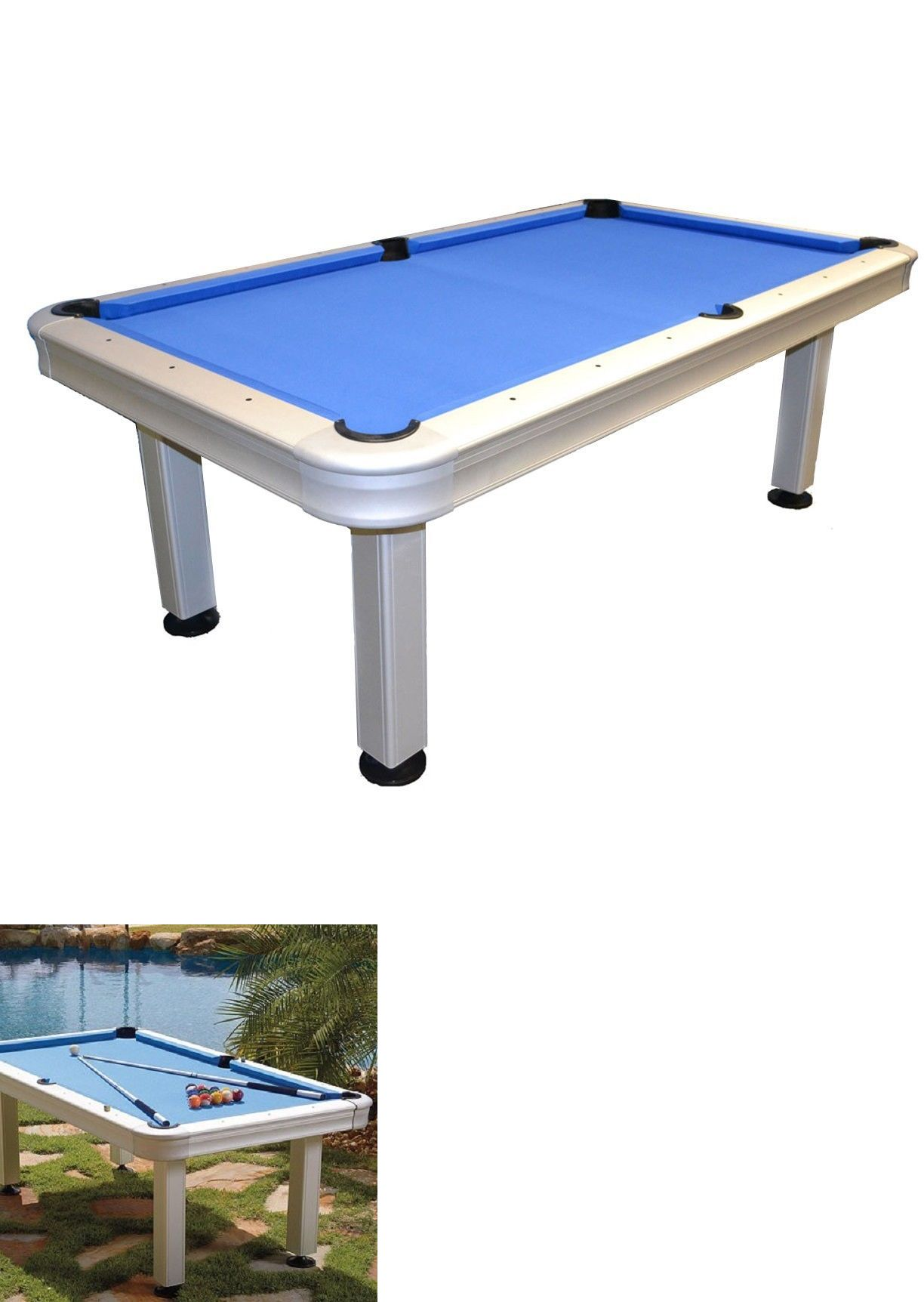 Pool table legs accessories for sale - Tables 21213 St Croix 7 Outdoor Pool Table W Accessories And Free Shipping