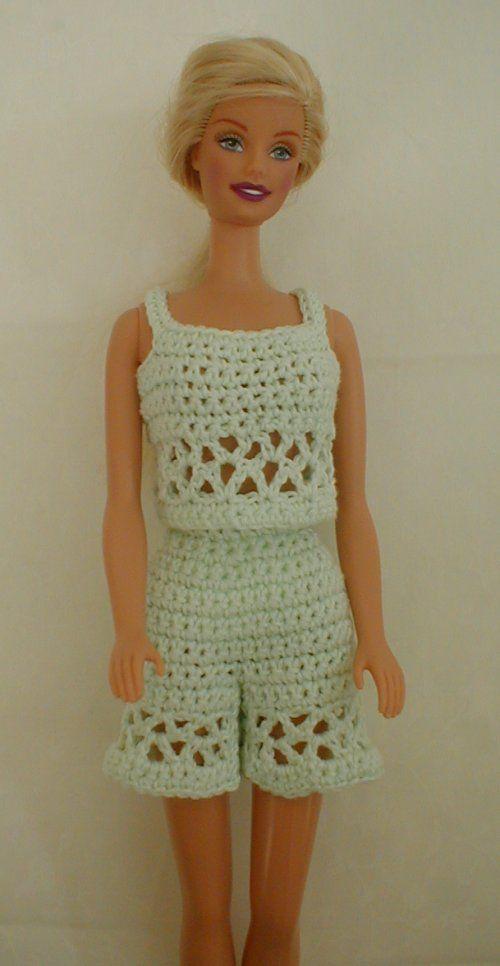 Shorts and Top | dolls | Pinterest | Ropa de muñeca, Muñecas y Barbie