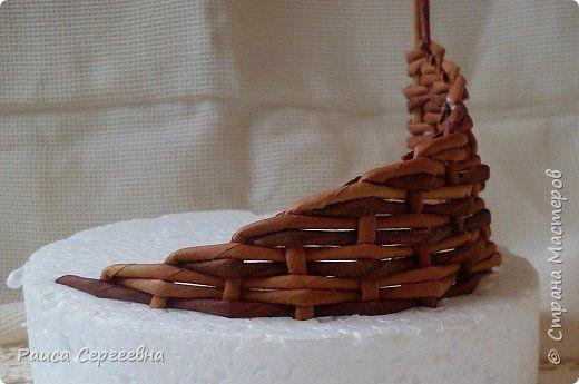 плетеная корзинка ушастая
