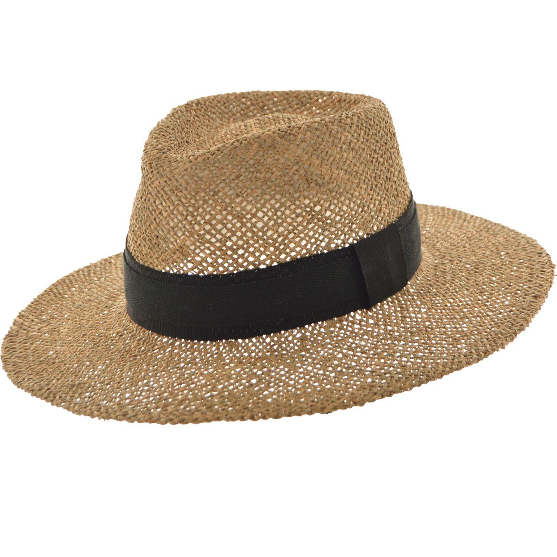 SOMBRERO YUTE CALADO IBERA Sombrero de yute con copa partida Teminado con  cinta de gros Ala de 7 cm y altura de copa de 9 cm   560.00 4358591736c