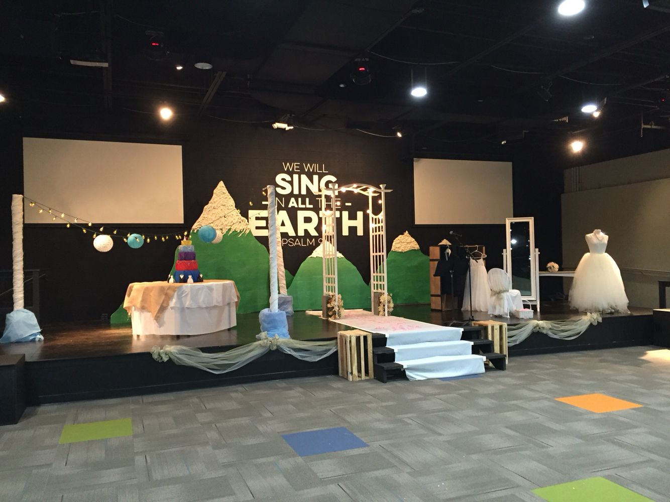 Mercy Hill kids stage. The covenant of Abraham. Unit 2
