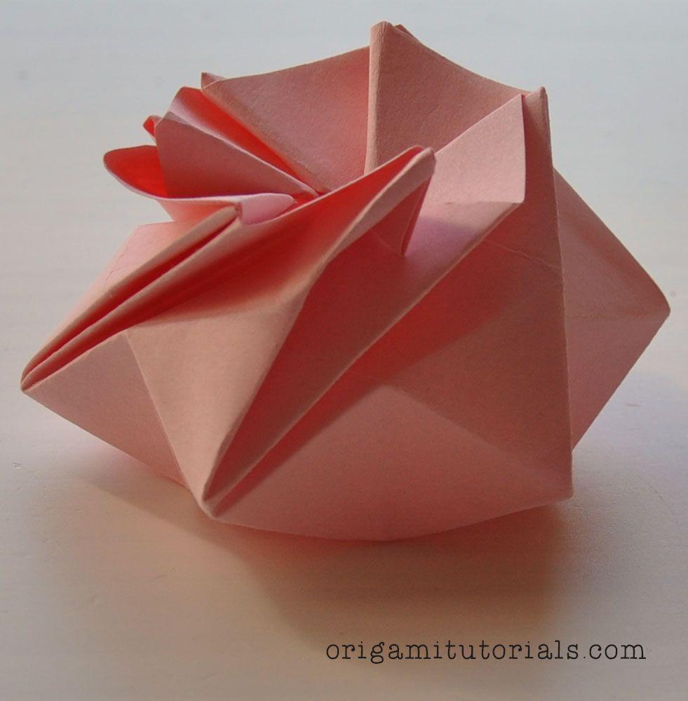Origami Starpuff Box Tutorial With Images Origami And Kirigami Origami For Beginners Origami Tutorial