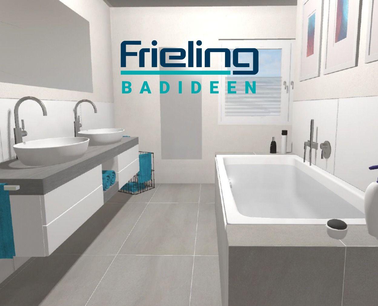 Die Badewanne als Raumtrenner   Das moderne Bad mit T Lösung ...