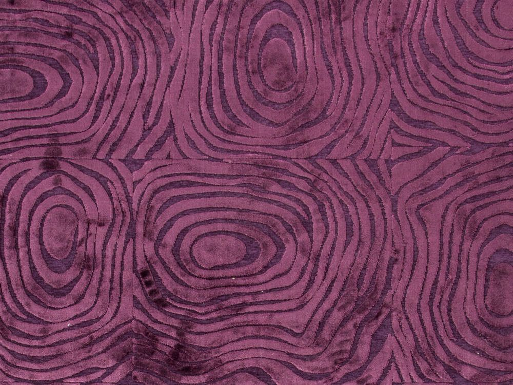 Buy Jaipur Rugs Modern Abstract Pattern Pink And Purple Viscose And  Chenille Rug   FB01 On