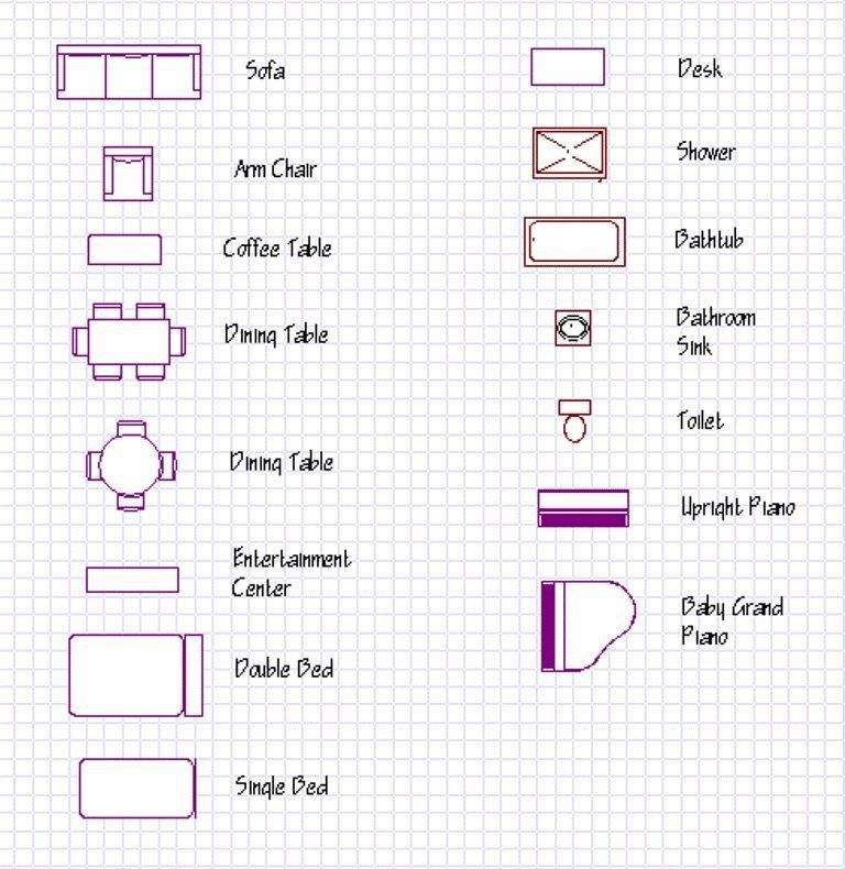 Blueprintsymbols symbols information conceptualdesign for Architectural floor plan symbols