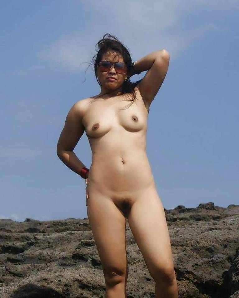 Cute skinny naturist girl