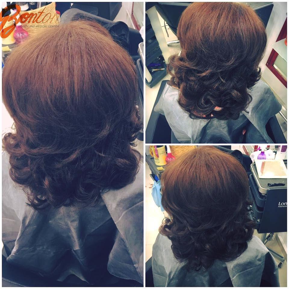 Rasfata-ti parul prin #bucle cu volum, realizate cu grija de hairstylistii #Bonton. www.salonbonton.ro