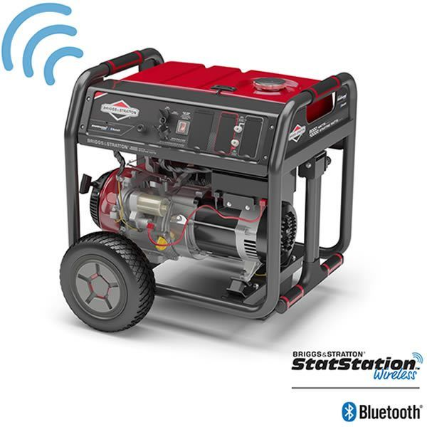 Briggs & Stratton 30679 - 8000 Watt Electric Start Portable Generator w/ StatStation™ Wireless Bluetooth® Technology (49-State) #bluetoothtechnology