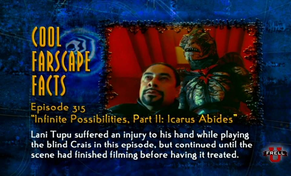 More cool Farscape facts.