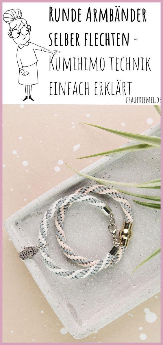 Photo of Machen Sie selbst Armbänder oder Lanyards mit Kumihimo | Frau Friemel