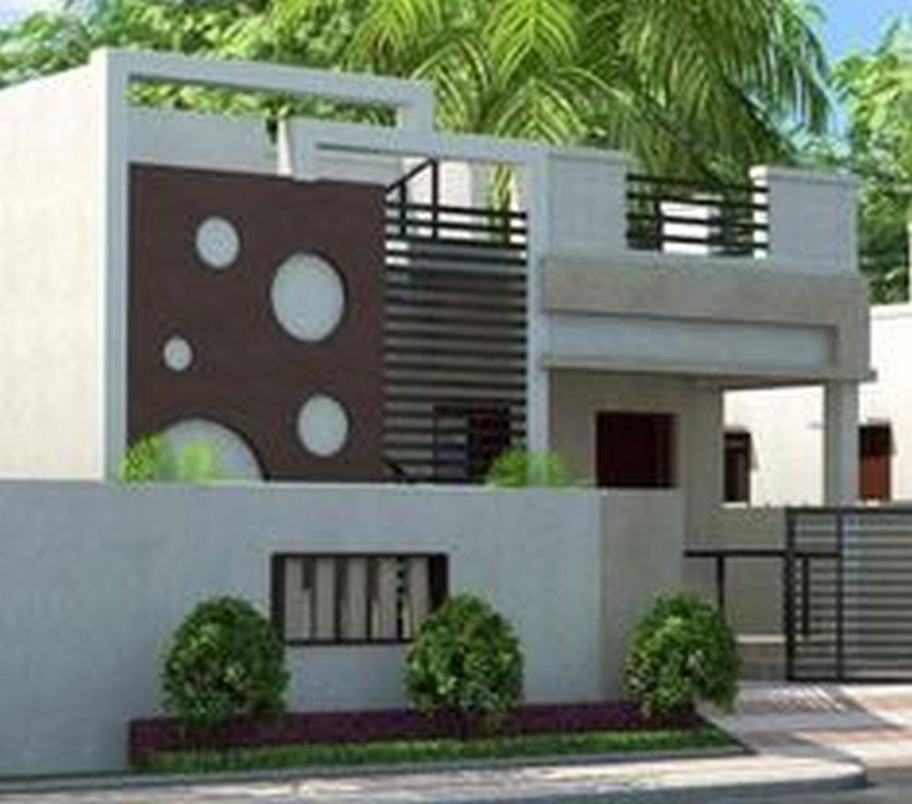 chennai home elevation design with house paint for