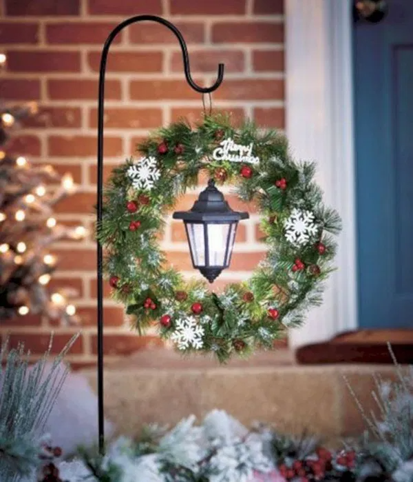 40 Wonderful Rustic Christmas Decoration Ideas For Your Yard And Garden In 2020 Christmas Decorations Rustic Outdoor Christmas Decorations Christmas Decorations Diy Outdoor