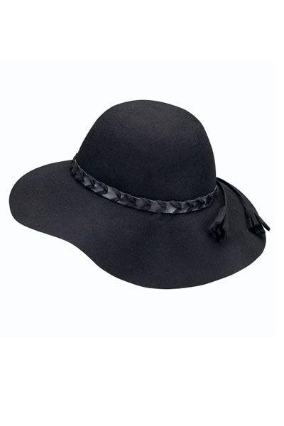 Sombrero con cinta de cuero 15d02ef4c96