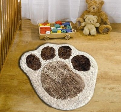 Paw Print Rug Nursery Ideas Pinterest Puppy Nursery