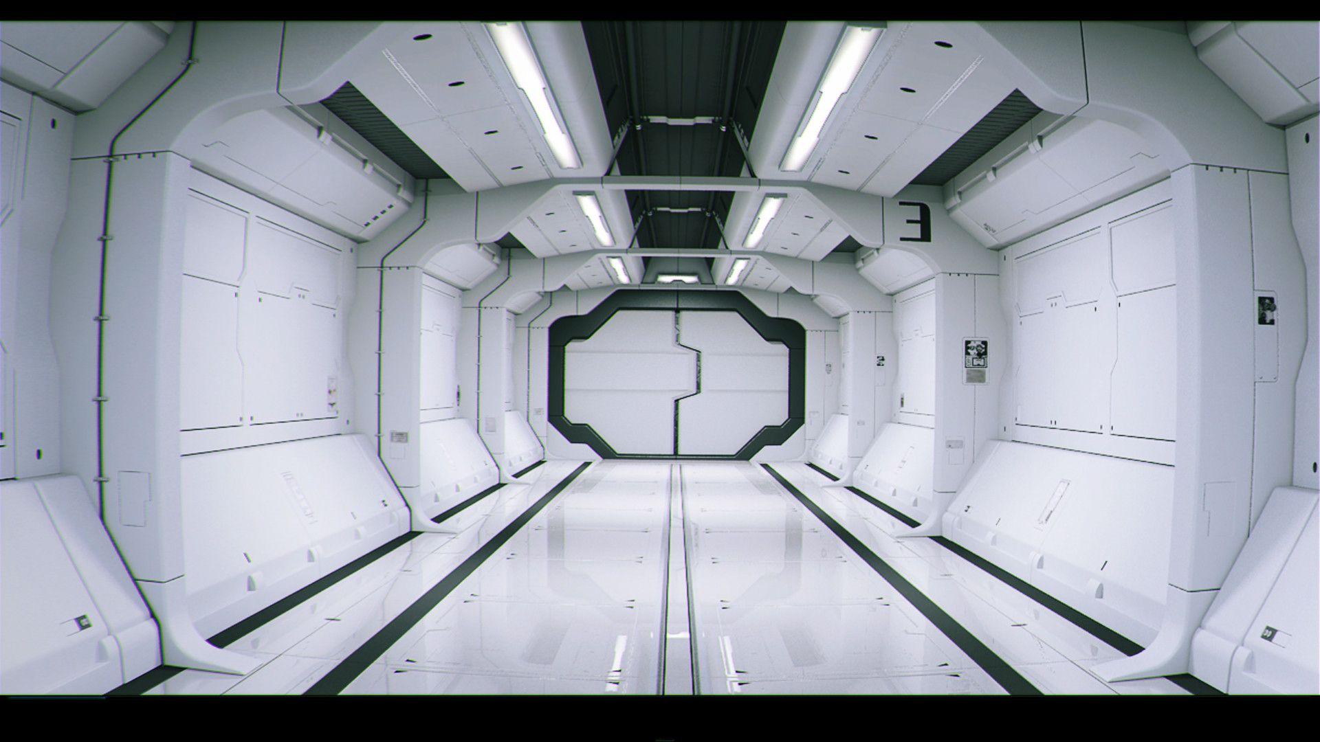 Robots Man Robots Awesome Sci Fi Interior Renderings Description From Pinterest Com I Searched For Spaceship Interior Futuristic Interior Sci Fi Wallpaper