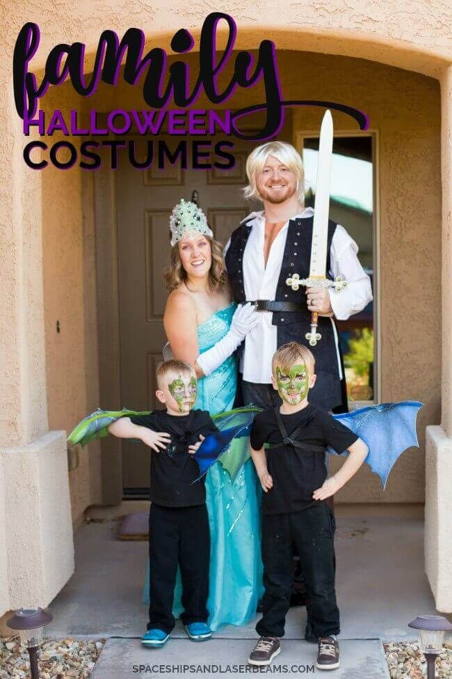 Easy Family Halloween Costumes - family halloween costume ideas with baby