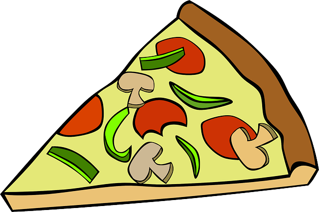 Free Vector Graphic Pizza Slice Food Lunch Dinner Free Image On Pixabay 31782 Pizza Vector Food Clips Free Clip Art